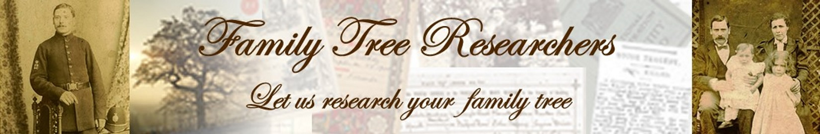 Family Tree Researcher researching your Family History